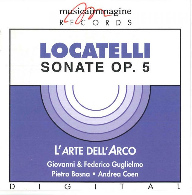 <strong>Sonate op. 5</strong><br />Pietro Antonio Locatelli (1695 - 1764)