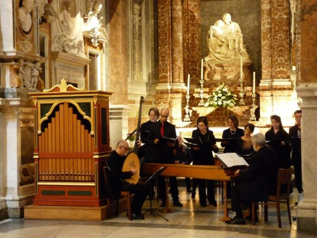 <strong>Solennit&agrave; di Pasqua </strong><strong></strong><br /> Mozart a Santa Maria dell&rsquo;Anima<strong><br /></strong>Roma, 27 marzo 2016<strong><br /></strong>