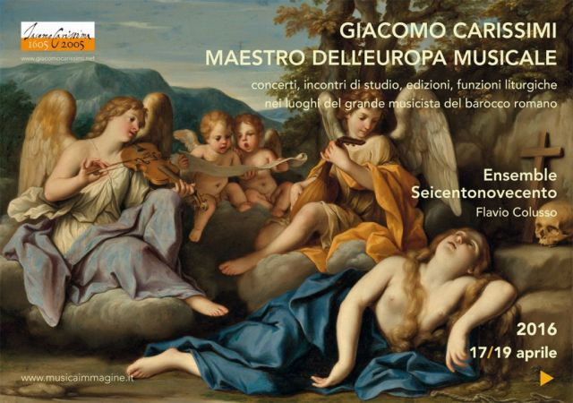 <strong>Giornate carissimiane 2016 <br />&quot;nei luoghi del Maestro&quot;<br /></strong>Roma, 17 / 19 aprile
